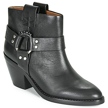 Schuhe Damen Low Boots See by Chloé FEDDIE Schwarz