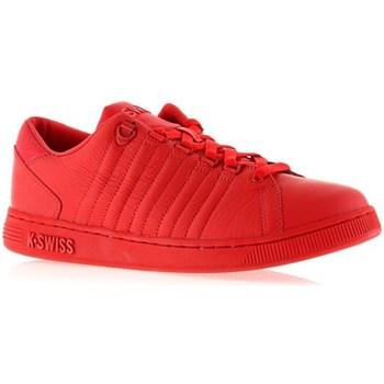 Schuhe Damen Sneaker Low K-Swiss Lozan Iii Monochrome Rot