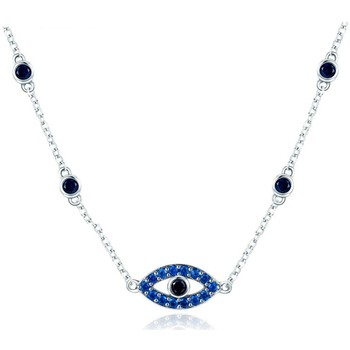 Uhren Damen Collier Blue Pearls CRY C2033 J Multicolor