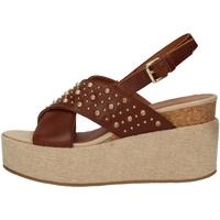 Schuhe Damen Sandalen / Sandaletten Lumberjack SW40006-006 COGNAC