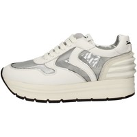 Schuhe Damen Sneaker Low Voile Blanche MAY POWER MESH Weiss