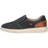 Schuhe Herren Slipper CallagHan 18503 Blau