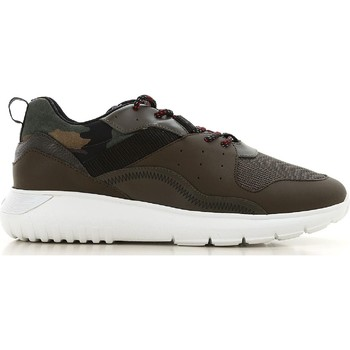 Schuhe Herren Sneaker Low Hogan HXM3710AQ10JIU737D color Mimetico