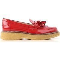 Schuhe Damen Slipper Tod's XXW30B0AK700W0R402 Rosso vivo