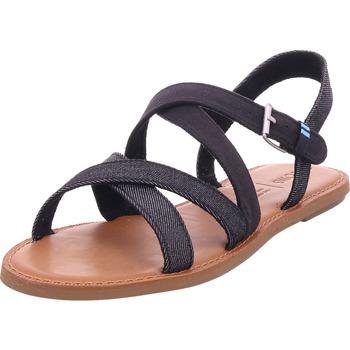 Schuhe Damen Sandalen / Sandaletten Toms - 10013307 schwarz