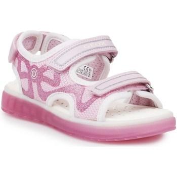 Schuhe Kinder Sportliche Sandalen Geox J Sblikk GB Rosa