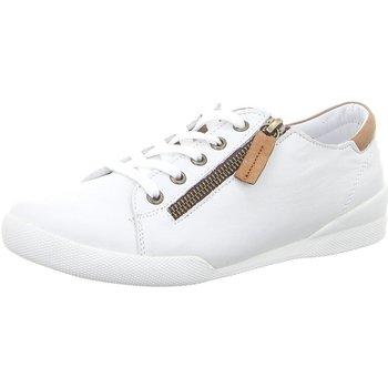 Schuhe Damen Sneaker Low Andrea Conti Schnuerschuhe 0347839534 weiß
