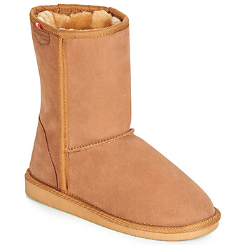 Schuhe Damen Boots Les Tropéziennes par M Belarbi MOUNTAIN Camel