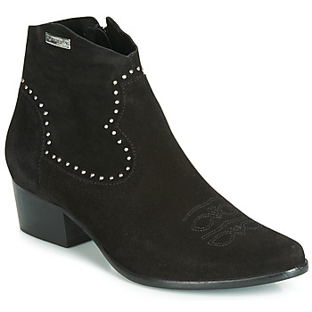 Schuhe Damen Low Boots Les Tropéziennes par M Belarbi ASTRID Schwarz