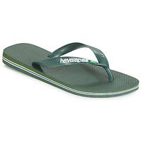 Schuhe Zehensandalen Havaianas BRASIL LOGO Olive