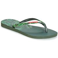 Schuhe Damen Zehensandalen Havaianas SLIM SENSATION Grün