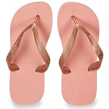 Schuhe Damen Zehensandalen Havaianas TOP TIRAS Rose