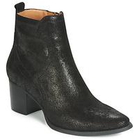 Schuhe Damen Boots Karston APIVA Schwarz