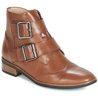 Schuhe Damen Boots Karston JIRONO Braun