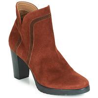 Schuhe Damen Low Boots Karston VASOR Braun