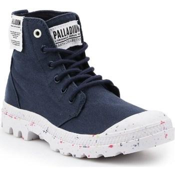 Schuhe Damen Boots Palladium Manufacture HI Organic W Schwarz