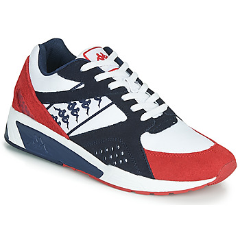 Schuhe Herren Sneaker Low Kappa GARKO Weiss / Rot / Schwarz