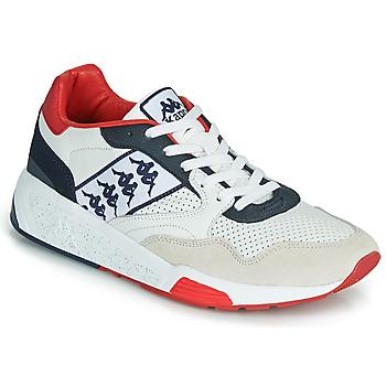 Schuhe Herren Sneaker Low Kappa LUXOR 2 Weiss / Rot