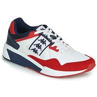 Schuhe Herren Sneaker Low Kappa BARSEL 2 Weiss / Rot