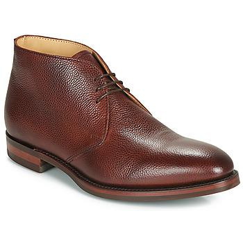 Schuhe Herren Boots Barker OAKNEY Bordeaux