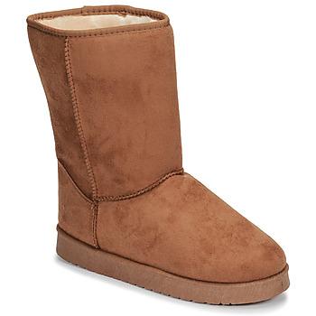 Schuhe Damen Boots Spot on JULIA Beige
