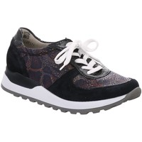 Schuhe Damen Sneaker Low Waldläufer Schnuerschuhe Hiroko -H- H 64001.408.021 blau