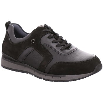 Schuhe Herren Sneaker Low Waldläufer Schnuerschuhe 972006 schwarz