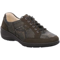 Schuhe Damen Derby-Schuhe Waldläufer Schnuerschuhe Kya 607014 306 824 grau