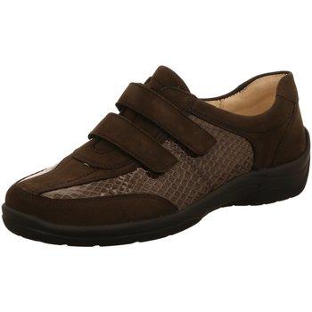 Schuhe Damen Slipper Waldläufer Slipper 312302866/014 014 grau