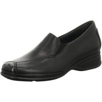 Schuhe Damen Slipper Semler Slipper SOFT-NAPPA/K-LACK R1635118 001 schwarz
