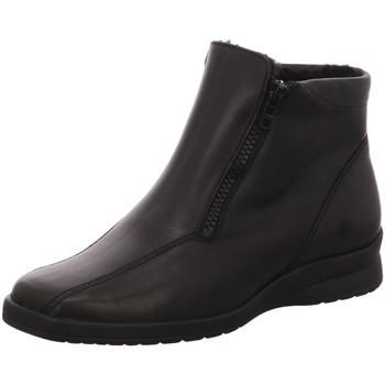 Schuhe Damen Boots Semler Stiefeletten Karolin, K14266-012-001-Karolin schwarz
