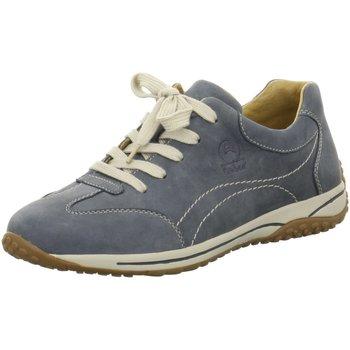 Schuhe Damen Multisportschuhe Gabor Schnuerschuhe Florenz -G- 46.385.36 blau