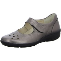 Schuhe Damen Slip on Semler Slipper B6035 braun