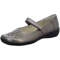 Schuhe Damen Slip on Semler Slipper F5805 F5805019/052 braun