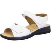 Schuhe Damen Sandalen / Sandaletten Ganter Sandaletten Monika, G 7-202591-0200 weiß