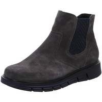 Schuhe Damen Boots Waldläufer Stiefeletten NV 919803 grau