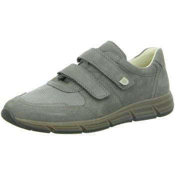 Schuhe Herren Sneaker Low Waldläufer Slipper NV 323301 grau