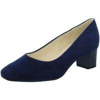 Schuhe Damen Pumps Peter Kaiser Ghana 51901-104 notte Suede 51901-104 blau
