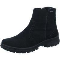 Schuhe Damen Klassische Stiefel Ara Stiefeletten Kurzstiefel schwarz