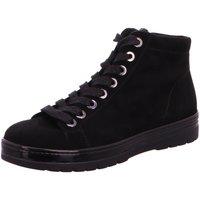 Schuhe Damen Boots Semler Stiefeletten R85153-441-001-Ruby schwarz