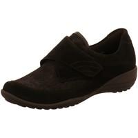 Schuhe Damen Slipper Waldläufer Slipper Katja K01304/309 001 schwarz