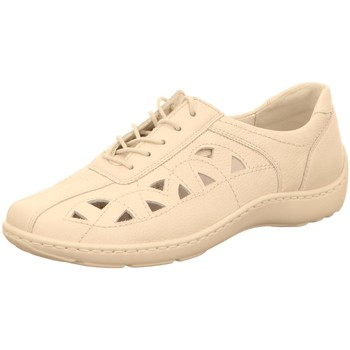 Schuhe Damen Sneaker Low Waldläufer Schnuerschuhe 496003 496003-172-148 weiß