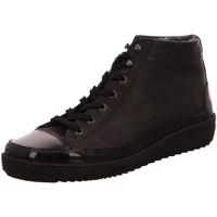 Schuhe Damen Boots Christian Dietz Stiefeletten Locarno 6.958.1961.12 Lack Nappa 6.958.1961.12 schwarz