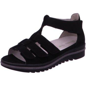 Schuhe Damen Sandalen / Sandaletten Waldläufer Sandaletten Hakura 351802-191/001 001 schwarz