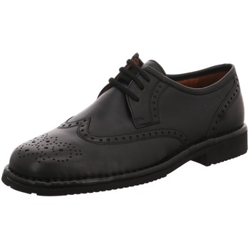 Schuhe Herren Derby-Schuhe & Richelieu Sioux Business Glasgow Glace Schw. Latex 20230 schwarz