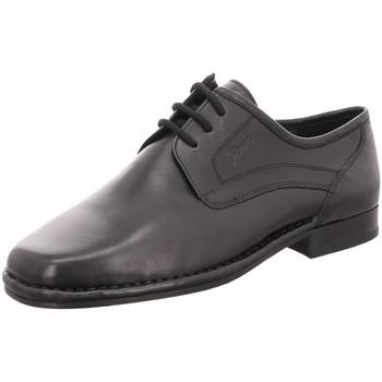 Schuhe Herren Derby-Schuhe & Richelieu Sioux Schnuerschuhe Houston 25140 schwarz