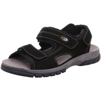 Schuhe Herren Sandalen / Sandaletten Waldläufer Offene DENVER H.Sandale 372001-191/001 schwarz