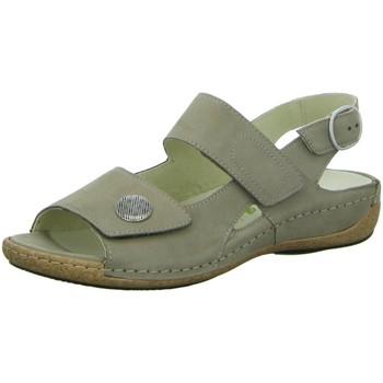Schuhe Damen Sandalen / Sandaletten Waldläufer Sandaletten Komfort Sandalette 342002 191 094 grün