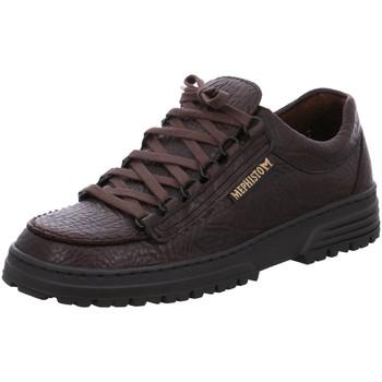 Schuhe Herren Sneaker Low Mephisto Schnuerschuhe CRUISER DARK BROWN Mamout 751 cruiser 751 braun