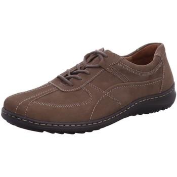 Schuhe Herren Derby-Schuhe & Richelieu Waldläufer Schnuerschuhe Schnürhalbschuh Herwig 478002 191 055 braun